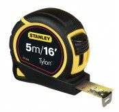 Stanley  5m / 16' Measure Tylon Tape  30-696