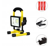 30W Water Resistant Portable Rechargeable Led Spot  Light
