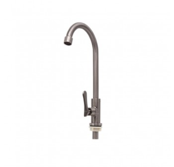 High-quality 304 Stainless Steel  Deck Mount Kitchen Faucet Sink Tap