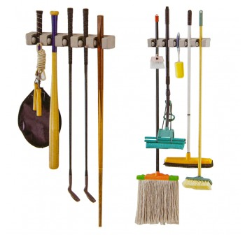 EZ 5 Way Mop Holder and Broom Organizer