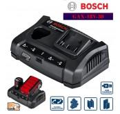 BOSCH GAX18V-30 CHARGER PROFESSIONAL (10.8V-18V) C/W USB PORT