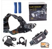 W602 6000lm LED Headlight Flashlight and Bicycle lamp 3T6 LED Headlamp