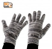 24 PAIRS ( 48pcs) Cotton Work Industrial Knitted Gardening Gloves Hands Safety Protective Glove Outdoor Safe Wear 800G