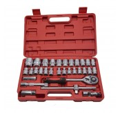 """YUYAO 32 pcs 1/2"""" DR.Socket Wrench SET with Ratchet"""