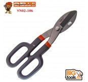 SNELL SN02-106 10 in High Quality All Purpose British Tin Snips Cut