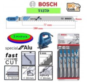 Bosch 5 PCS T 127D Jigsaw Blade Special for Aluminium 5pc/pack