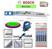 BOSCH Makita 5 pcs/pack MA118A METAL Jigsaw Blade