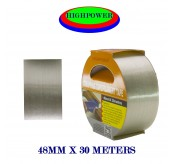 48MM * 30 METRES Filament Strapping Tape Heavy Duty Fiberglass Packaging Tape Reinforced Glass Strand String Strapping Tape