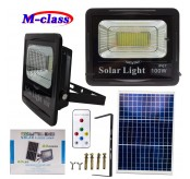 Solar Panel Spotlight 100W Garden Light Outdoor Long Work Time 100W Solar LED Flood Light