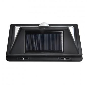 Smart Sensor and Solar Power 52 LED Wall Light PIR Motion Sensor Outdoor Security Lamp Waterproof Garden Wall Lamp Landscape Lights