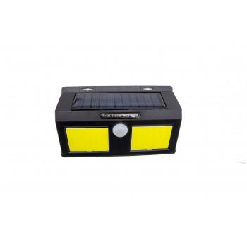 Smart Sensor and Solar Power 48 CBO LED Wall Light PIR Motion Sensor Outdoor Security Lamp Waterproof Garden Wall Lamp Landscape Lights
