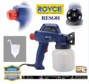 ROYCE RESG-60 60W 700ML High-pressure Professional Electric DIY Paint System Sprayer Gun
