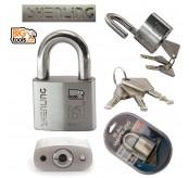 SHENLING SUS 750 Padlock SS304 Anti-Rust Pad Lock 50mm Security Padlock