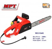 "MPT MECS 1601 16"" Electric Corded Chainsaw Cutter Trimmer Saw Chain 2000w"