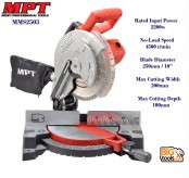 MPT MMS 2503 2200W 250mm Blade Diameter Mitre Saw