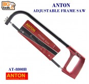 ANTON 12'' 300MM Steel Frame Hand Saw Hacksaw Cutter with Blade Set