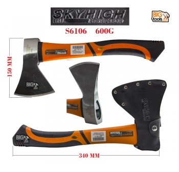 14'' SKYHIGH AXE Chopping Wood Cutter Saw Hatchet S6106