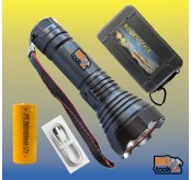 SUPER BRIGHT TORCHLIGHT  USB 26650