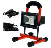 20W Water Resistant Portable Rechargeable Led Spot  Light