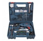 Bosch GSB 10 RE Impact Drill 100 pcs accessory set