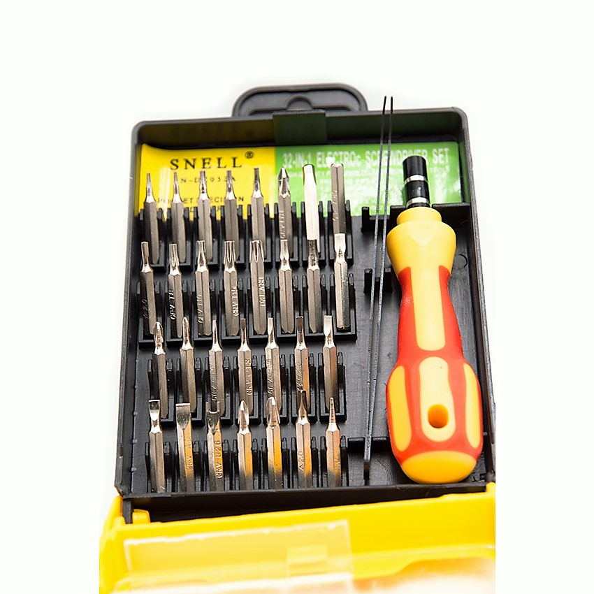 SNELL SN-DZ032A 32 In 1 Electro Screwdriver Set