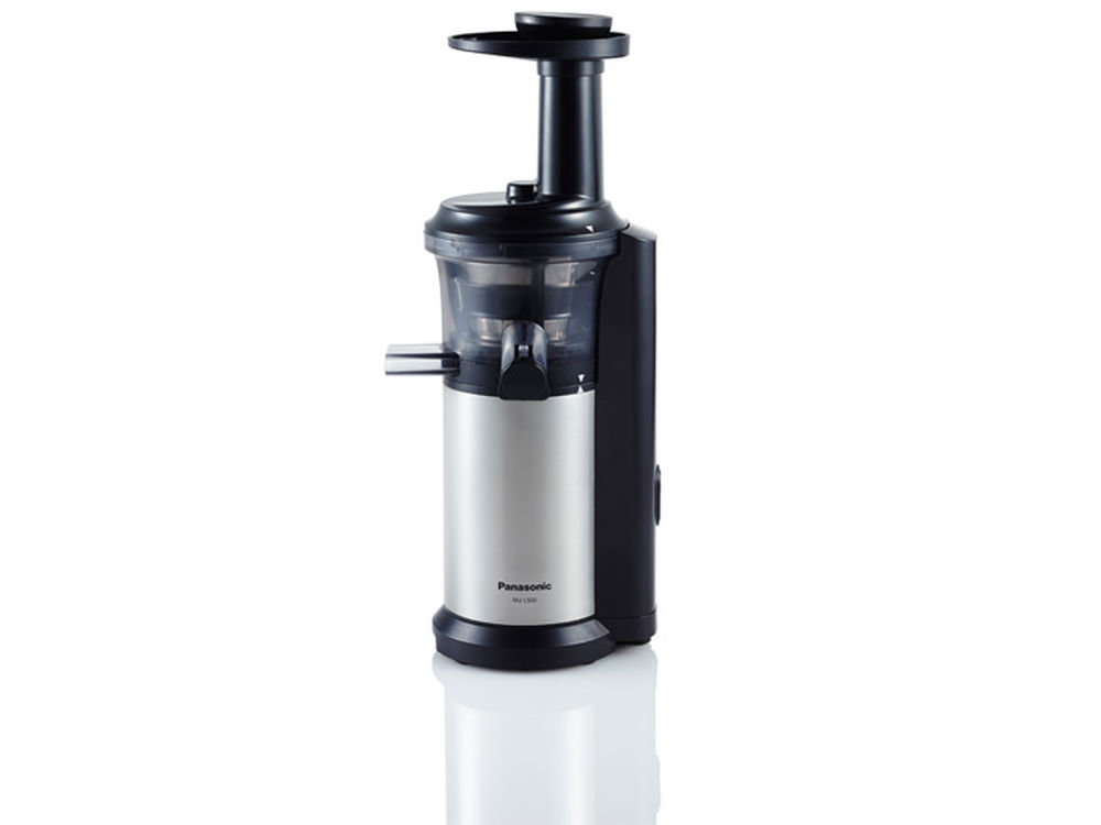 Panasonic Slow Juicer Made In : Panasonic MJ-L500 Slow Juicer with Frozen Treat Attachment
